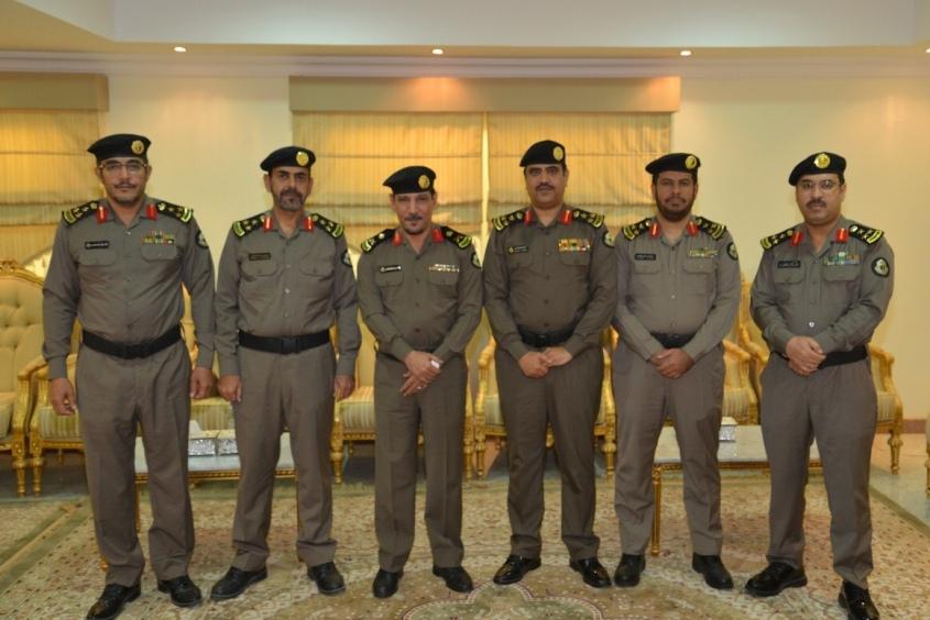 اللواء المقاطي يقلد ضباط شرطة القصيم رتبهم الجديدة