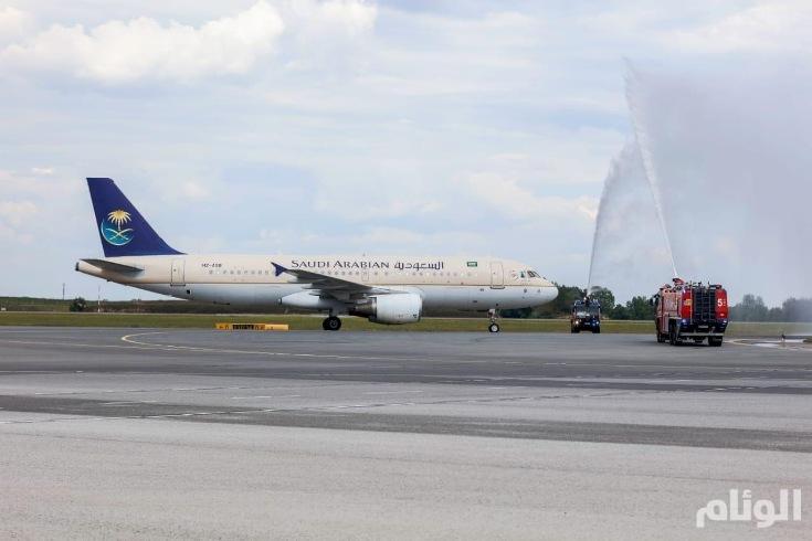 الخطوط السعودية تطلق أولى رحلاتها إلى «فيينا»