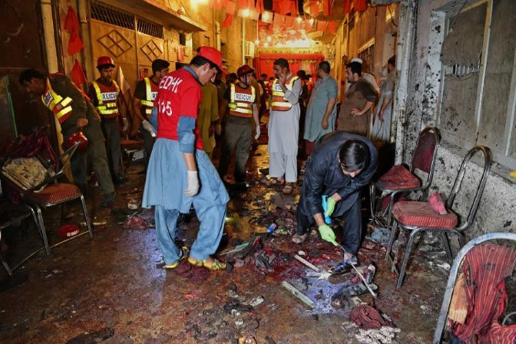 باكستان: أكثر من 20 قتيلا في اعتداء خلال لقاء انتخابي