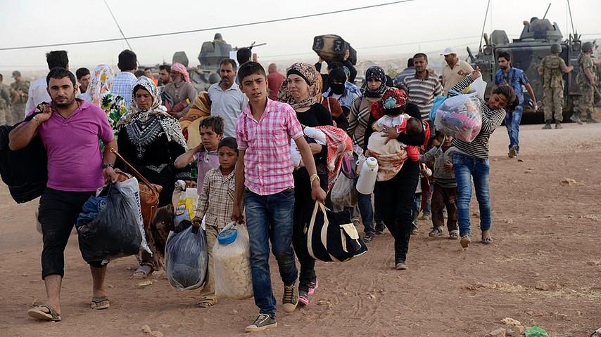 الاحتلال الإسرائيلي يرفض دخول سوريين فارين من الحرب