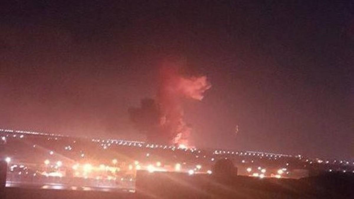 مصر .. انفجار وحريق في محيط مطار القاهرة