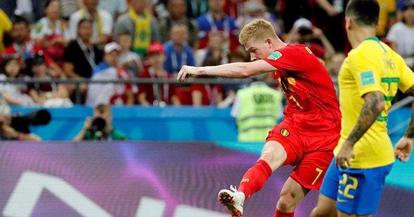 بلجيكا تقصي البرازيل من المونديال في مباراة الواقع والتاريخ
