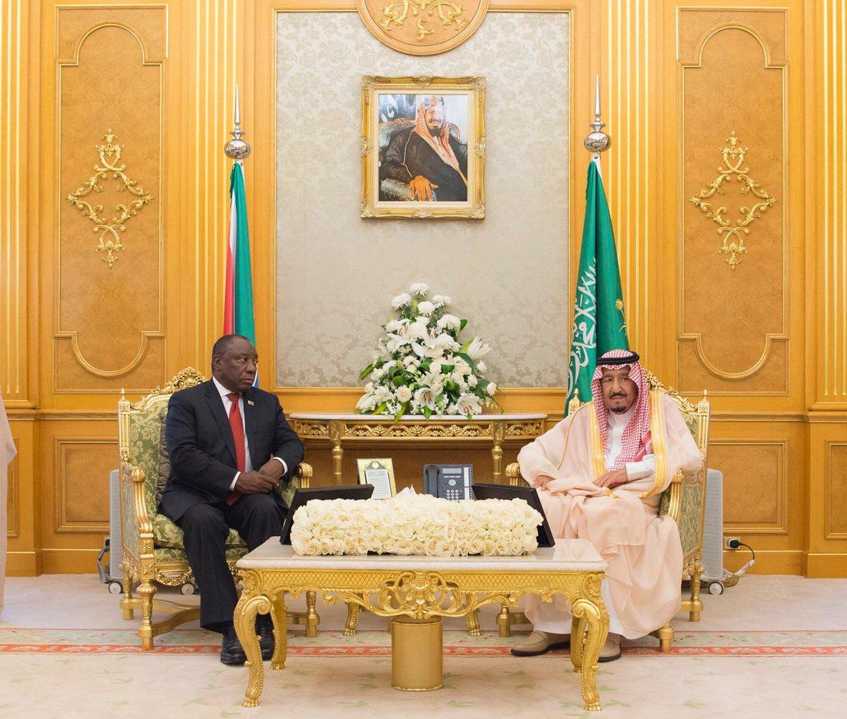 صدور بيان مشترك بين المملكة العربية السعودية وجمهورية جنوب أفريقيا