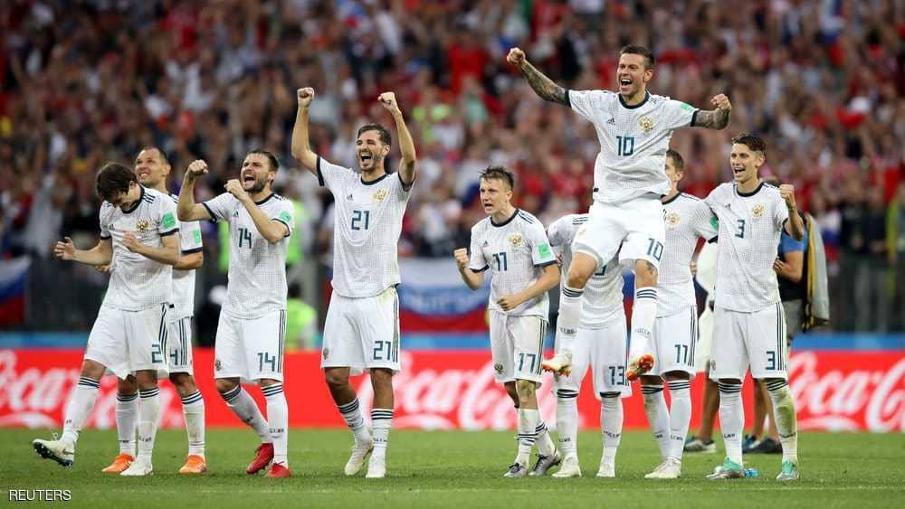 لاعب روسي يصنع حدثا تاريخيا في مباراة إسبانيا