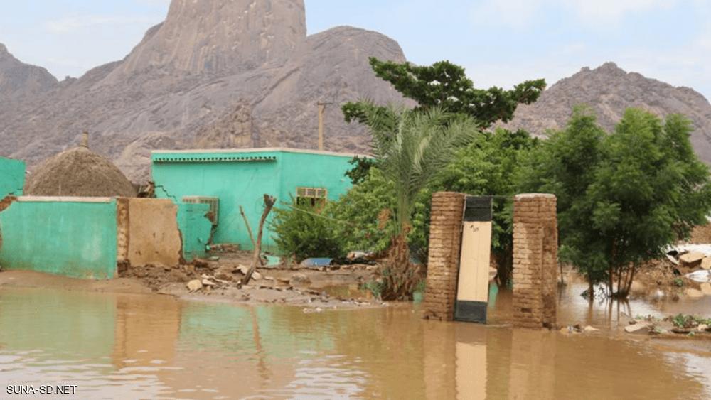 السودان .. فيضانات تقتل امرأة وتدمر عشرات المنازل