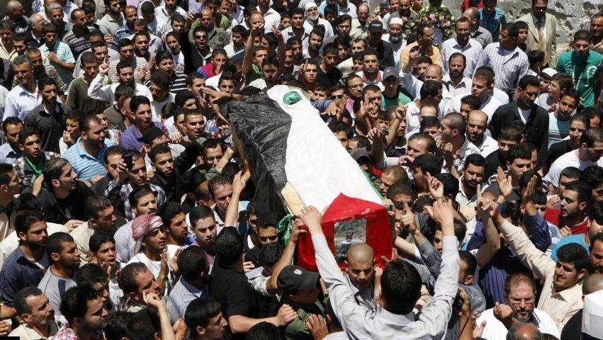 """""""أسر شهداء فلسطين"""": 192 شخصا ارتقوا خلال 2018"""