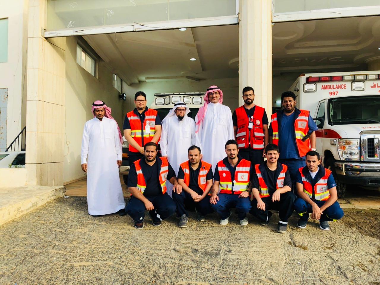 رئيس هيئة الهلال الأحمر السعودي يزور منطقة الباحة