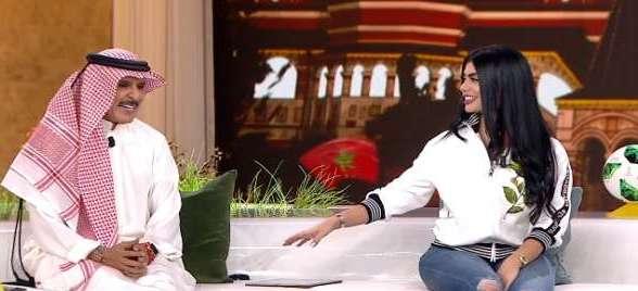 على الهواء مباشرة.. مذيعة تطلب الزواج من عبد الله بالخير