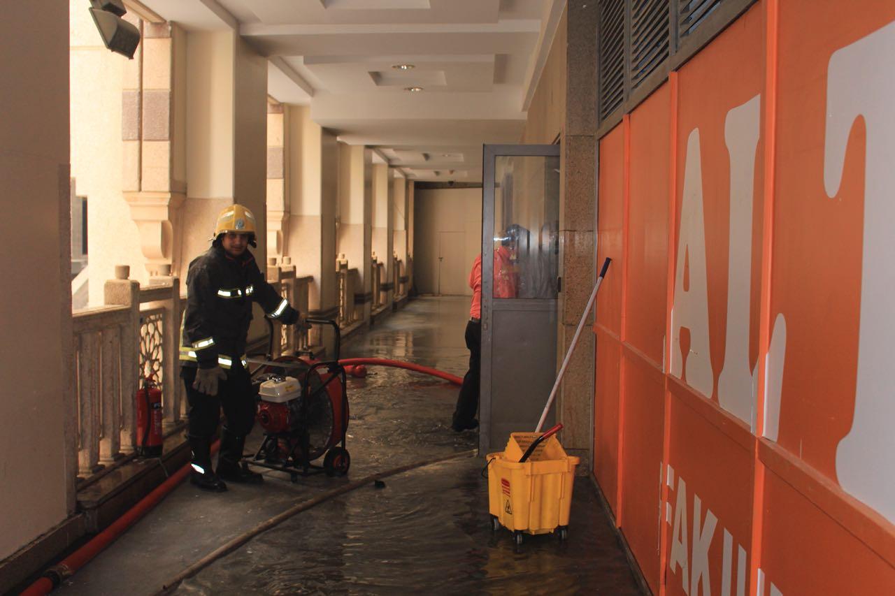 مكة: السيطرة على حريق بمطعم