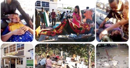 «40» قتيلاً في زلزال لومبوك الإندونيسية