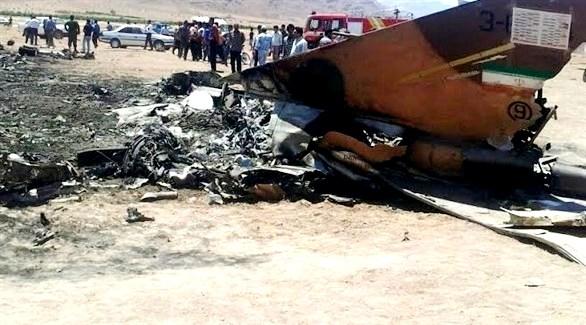سقوط طائرة في إيران