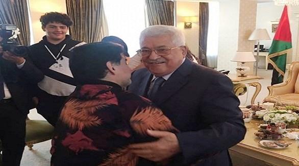 مارادونا لعباس: في قلبي.. أنا فلسطيني