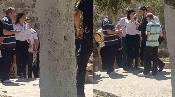 وزيرة الثقافة الإسرائيلية ونواب يقتحمون المسجد الأقصى