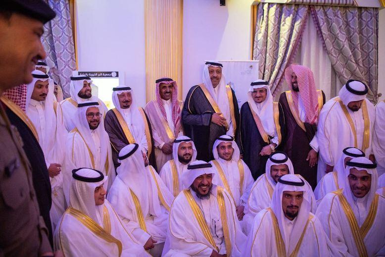 بالصور: أمير الباحة يرعى حفل زواج 400 شاب وفتاة في بلجرشي