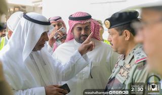 جولة تفقدية للتأكد من جاهزية المواقع بالمسجد الحرام والمنطقة المركزية
