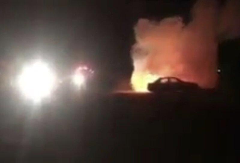 الأمن يطارد مجهولين أحرقوا سيارة مواطنة بمكة المكرمة