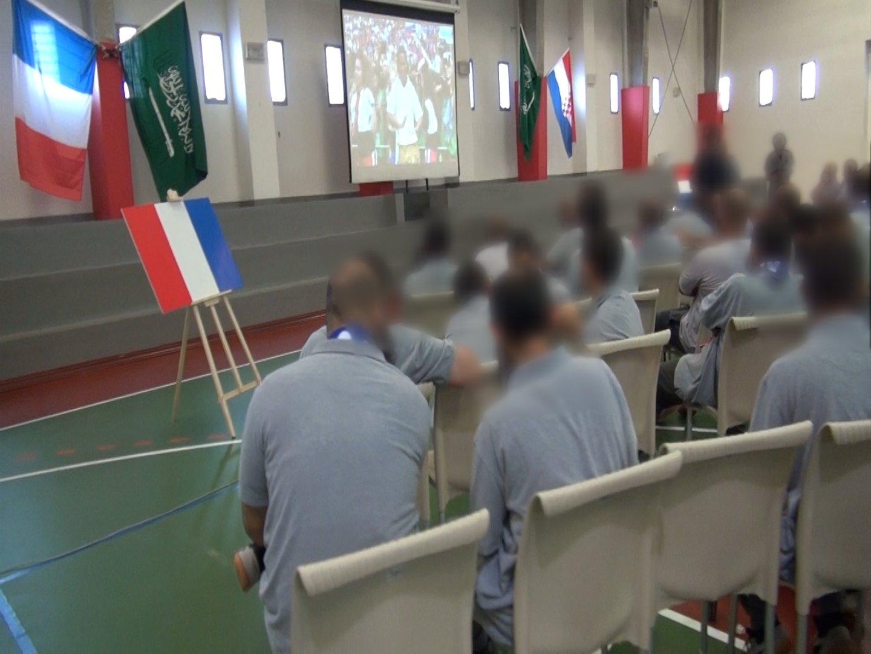 سجن ذهبان يقيم برنامجا ترفيهيا للنزلاء بالتزامن مع نهائي كأس العالم