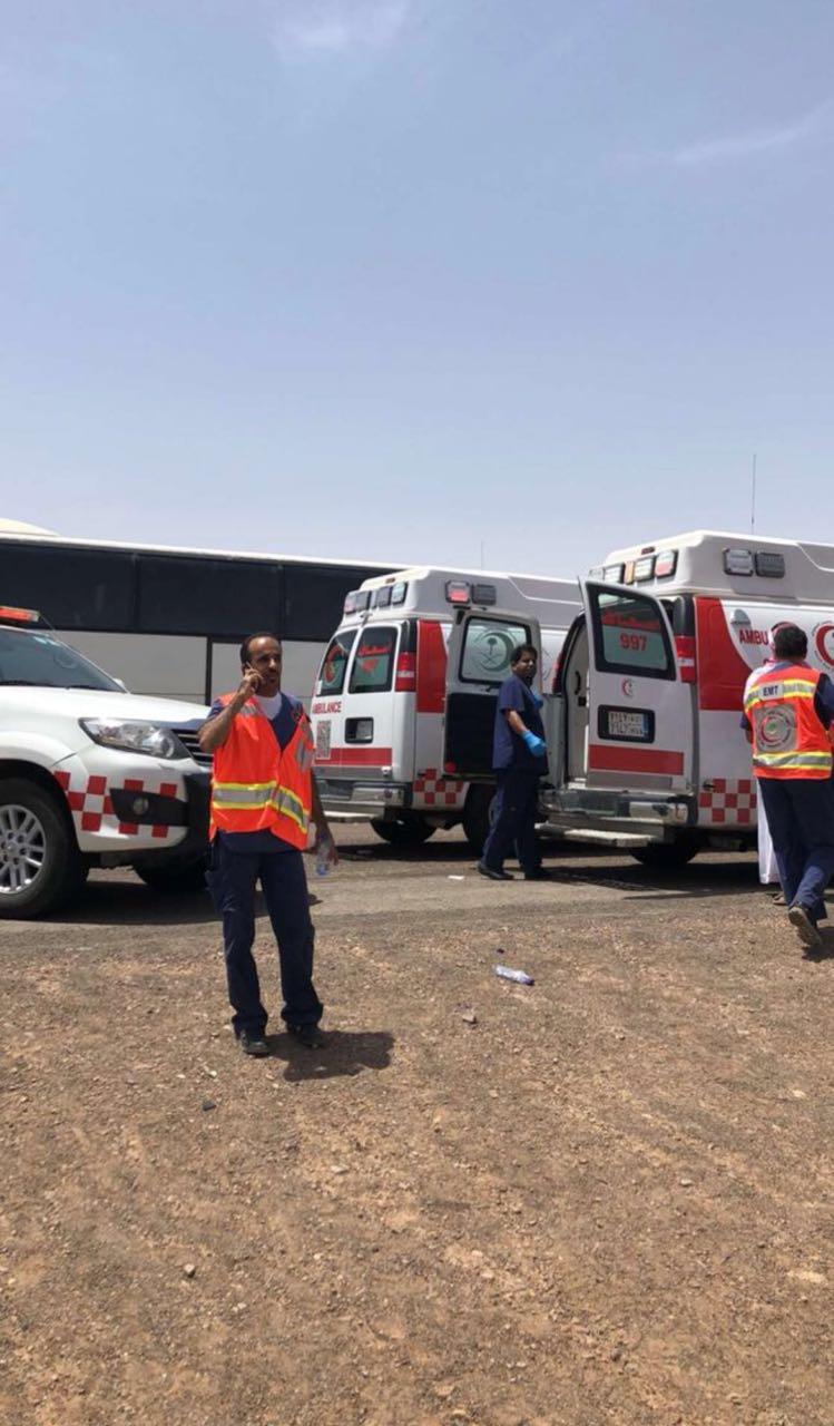 الهلال الأحمر تعلن الطوارئ بـ27 فرقة لإسعاف 47 مصابا