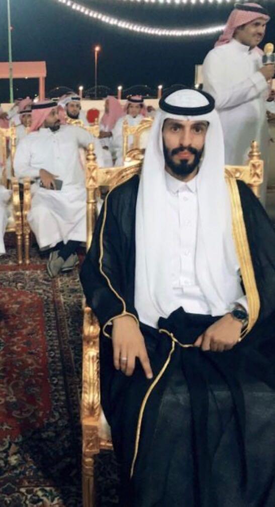 الشيخ سفر بن جنيّح الشدادي يحتفل بزواج حفيده بندر بن فهد