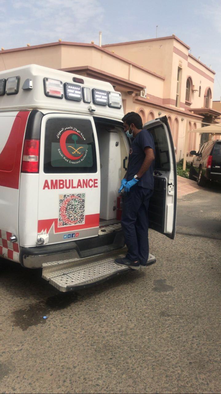 حريق يلتهم فيلا سكنية ويصيب 8 أشخاص في جدة