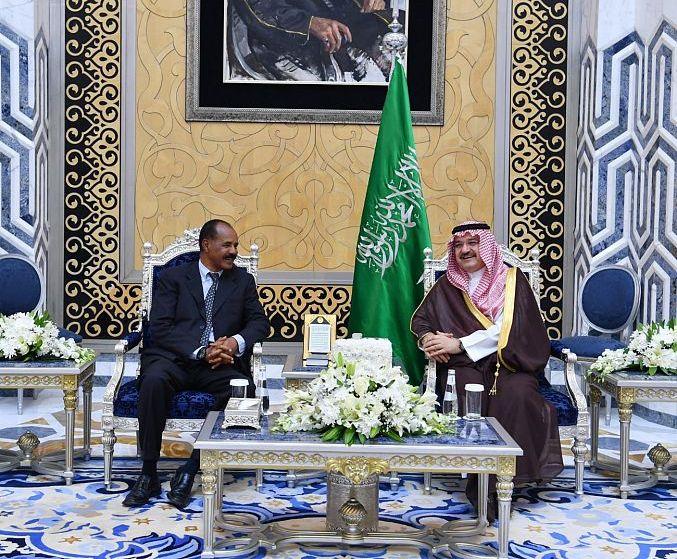 أسياس أفورقي في السعودية للقاء الملك سلمان وولي العهد