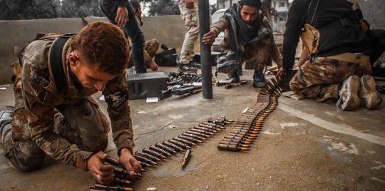 فصائل المعارضة تسلم أسلحتها للنظام السوري