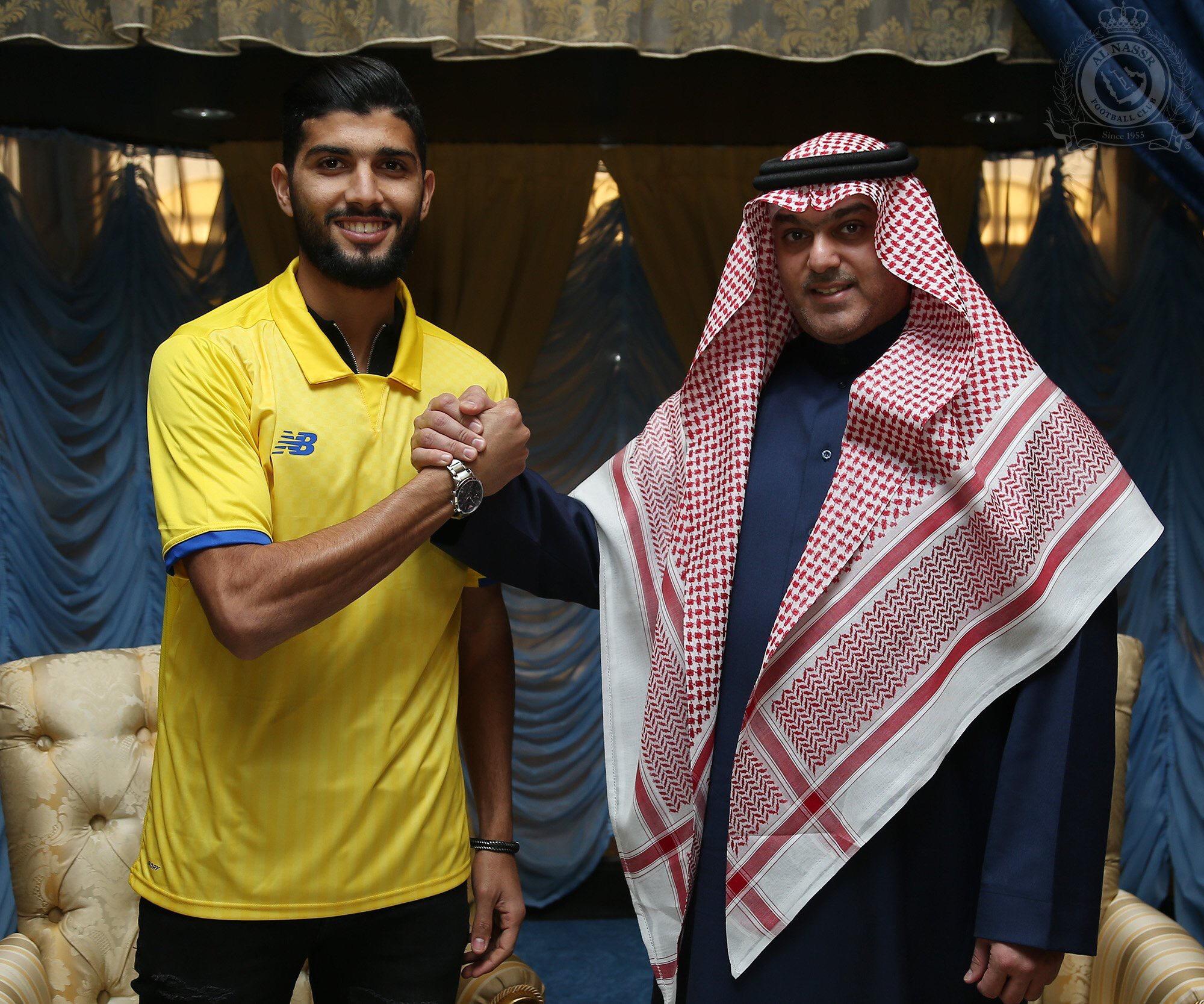 """لاعب النصر التونسي """"ساسي"""" ينتقل للزمالك"""