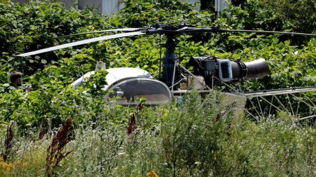 هروب اللص الشهير رضوان فايد بمروحية من سجنه بباريس