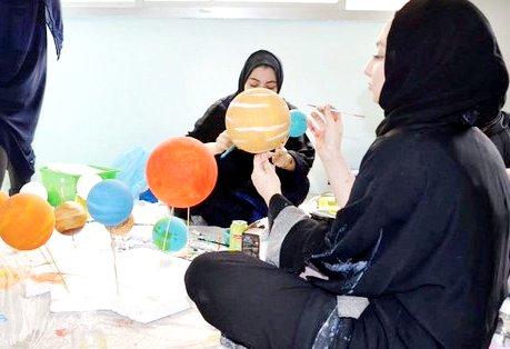 مهندسات السعودية بدأن تجديد المدارس