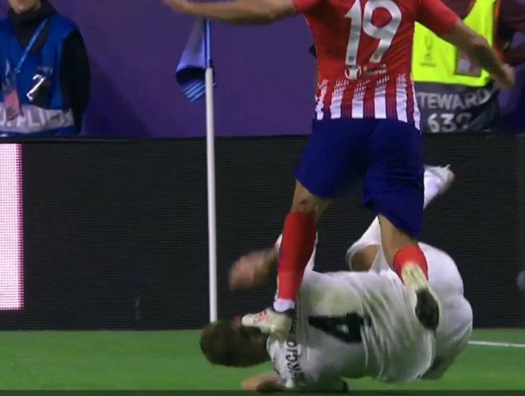 """أتلتيكو مدريد يخطف""""سوبر أوروبا"""" من الريال"""