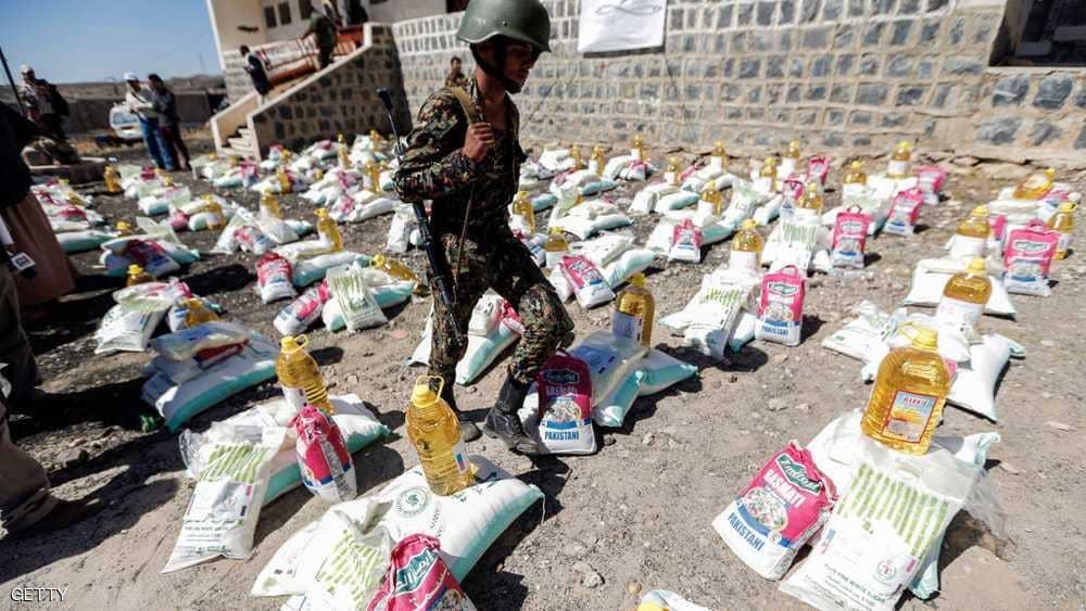 اليمن .. الحوثيون ينهبون مستودع مواد غذائية تابعا للمنظمة الدولية للهجرة