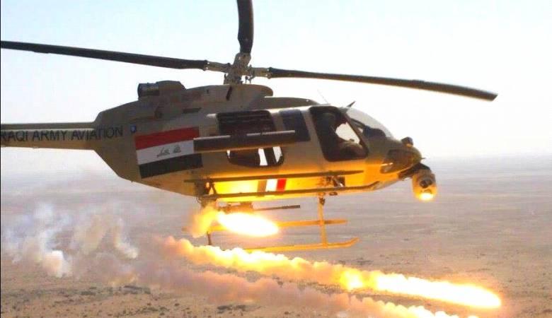 """العراق.. الطيران الحربي يقصف مواقع لـ""""داعش"""" بالموصل"""
