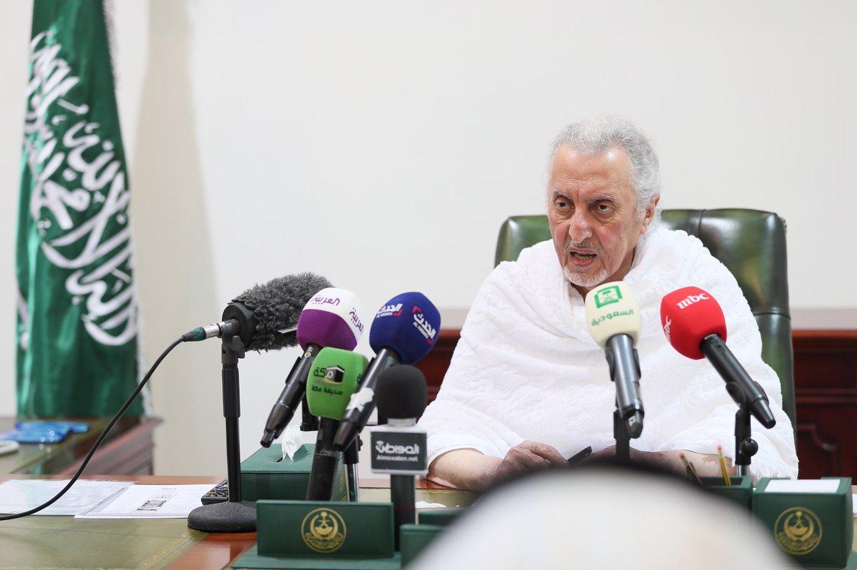 أمير مكة من مشعر منى : تميّز حج هذا العام في استخدام التقنية لخدمة ضيوف الرحمن