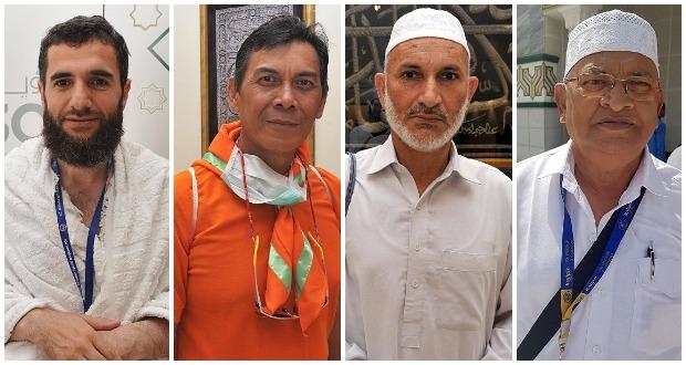 حجاج من كافة بقاع الأرض يشيدون بالخدمات في مكة