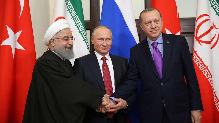 روسيا وإيران وتركيا يناقشون الوضع في إدلب السورية