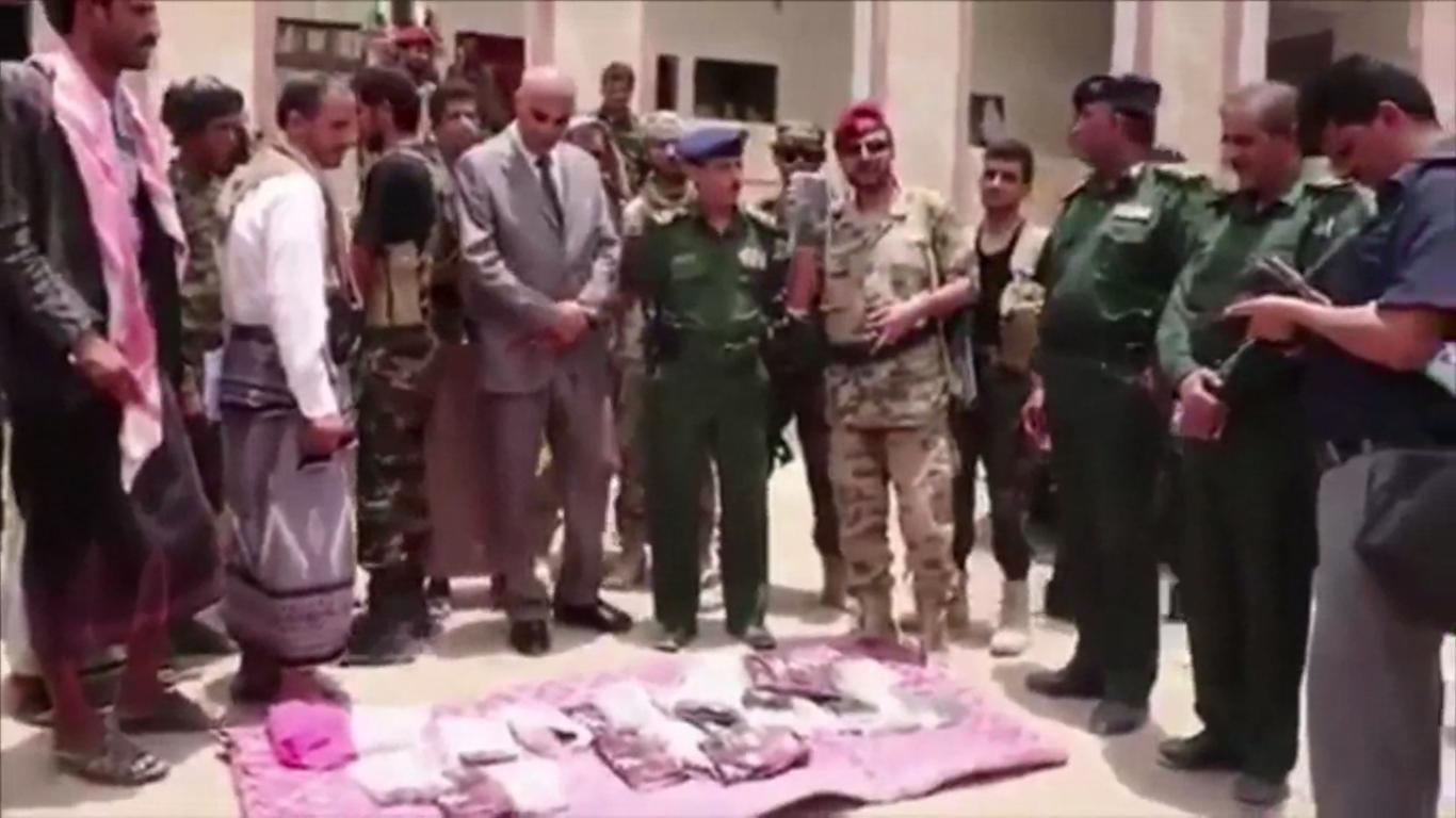 اليمن: ضبط شحنة مخدرات قادمة من لبنان كانت في طريقها للحوثيين