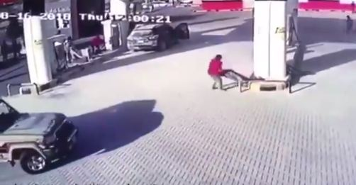 موقف بطولي.. عبدالله آل بريك يضحي بحياته لمنع اشتعال محطة وقود