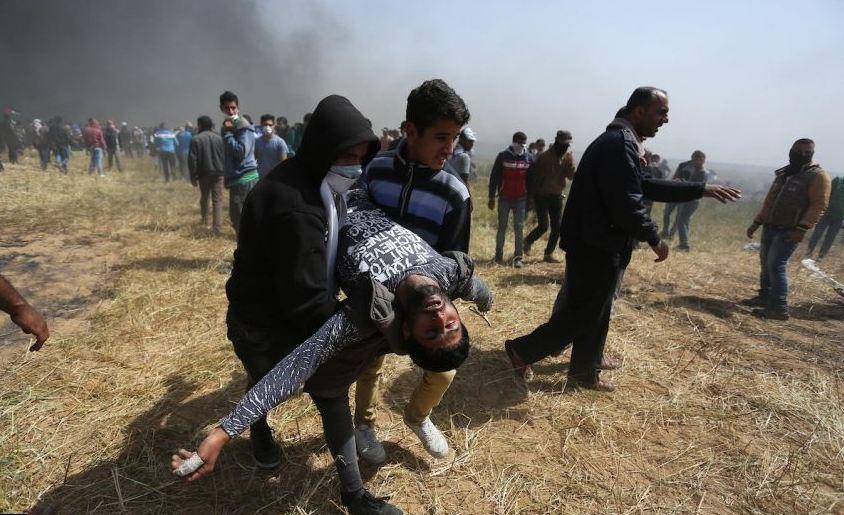 الصحة الفلسطينية: 155 شهيدًا و 17259 مصابا منذ بدء مسيرات العودة
