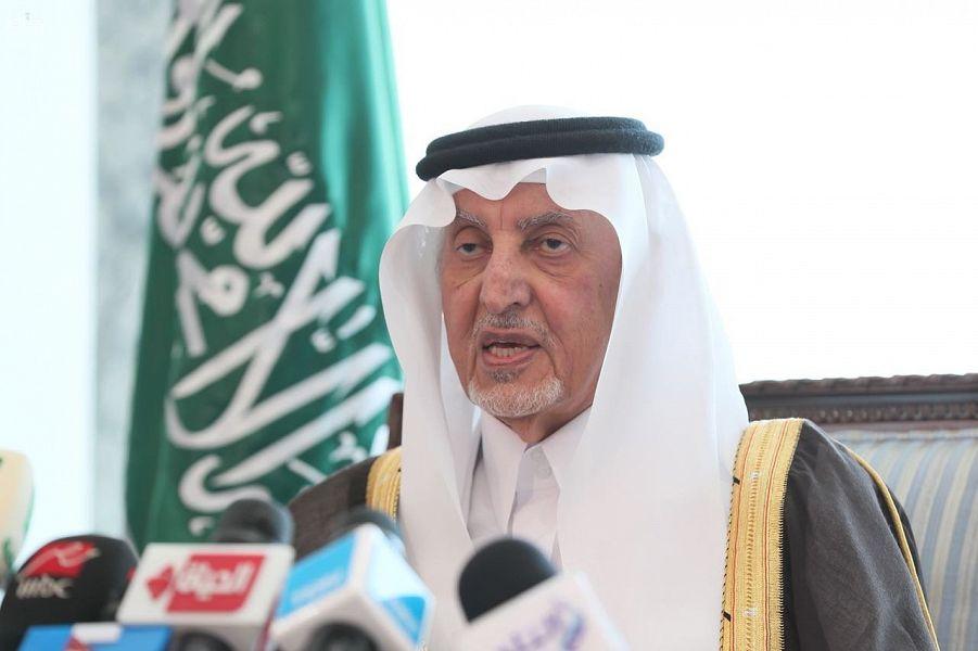 خالد الفيصل: عدد المخالفين لحج هذا العام لم يتجاوز 110 آلاف شخص
