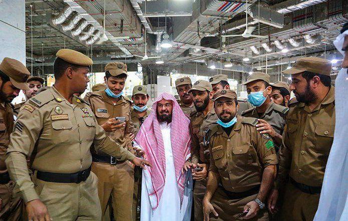 السديس لرجال الأمن: شكراً لجهودكم بخدمة ضيوف الرحمن