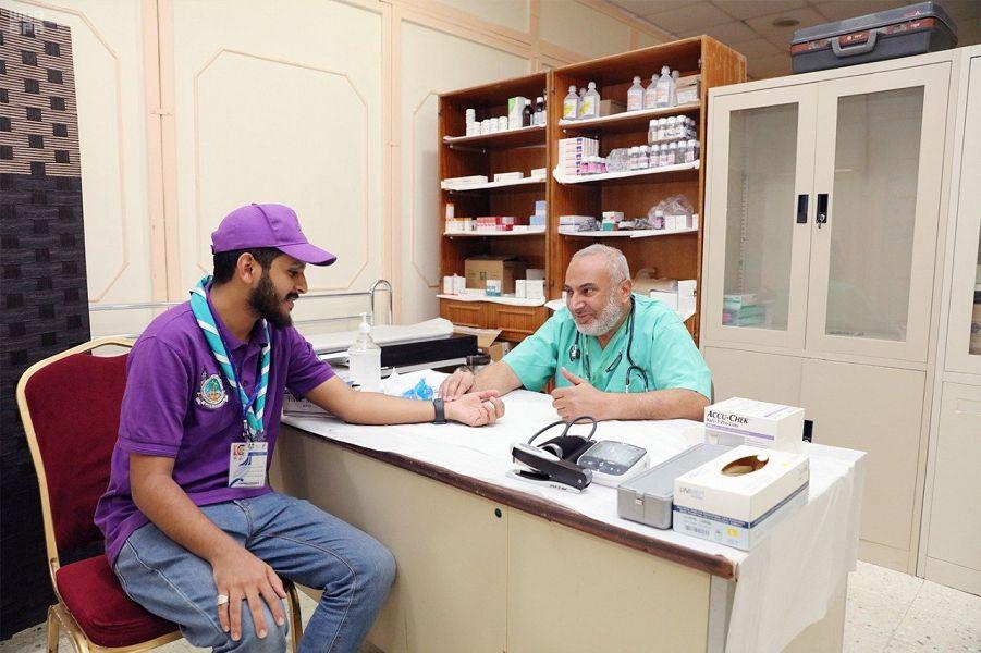 قاعدة طبية إلكترونية للكشافة المشاركين في خدمة الحجاج