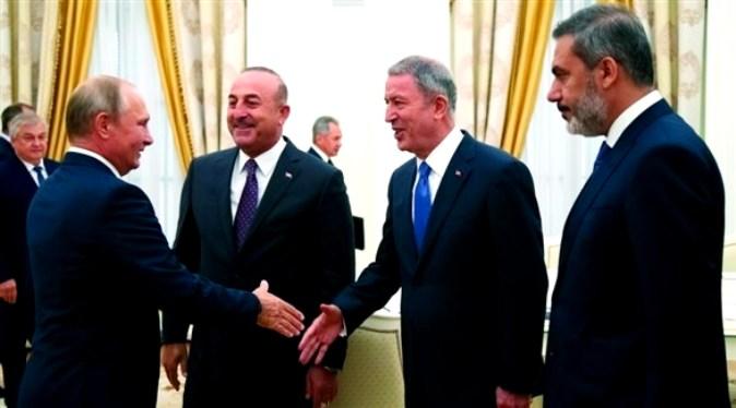 خطة روسية تركية لحل عقدة إدلب