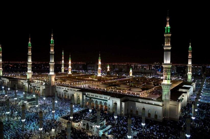 وصول أكثر من 383 ألف حاج للمدينة المنورة