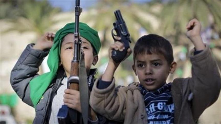 """""""سلام بلا حدود"""": """"الحوثي"""" أجبرت 23 ألف طفل على حمل السلاح"""