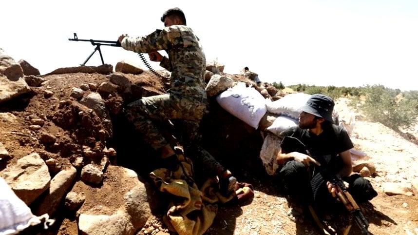 داعش يهاجم أكبر قاعدة للتحالف الدولي في سوريا