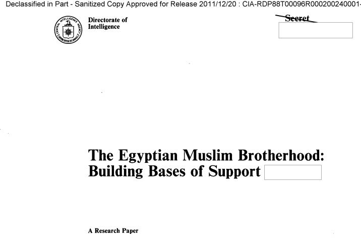 وثائق CIA.. كيف اخترق الإخوان المجتمع العربي ومولو عملياتهم