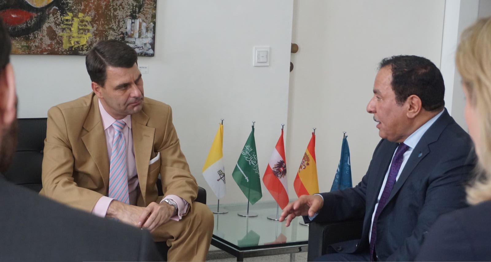 """نائب وزير الخارجية النمساوي يشكر جهود المملكة في """"الحوار والتعايش وبناء السلام"""""""