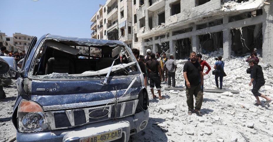 """الأمم المتحدة تدعو إلى مفاوضات لتجنب """"حمام دم"""" في إدلب بسوريا"""