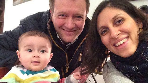 إيران تفرج عن البريطانية نازنين زغاري راتكليف