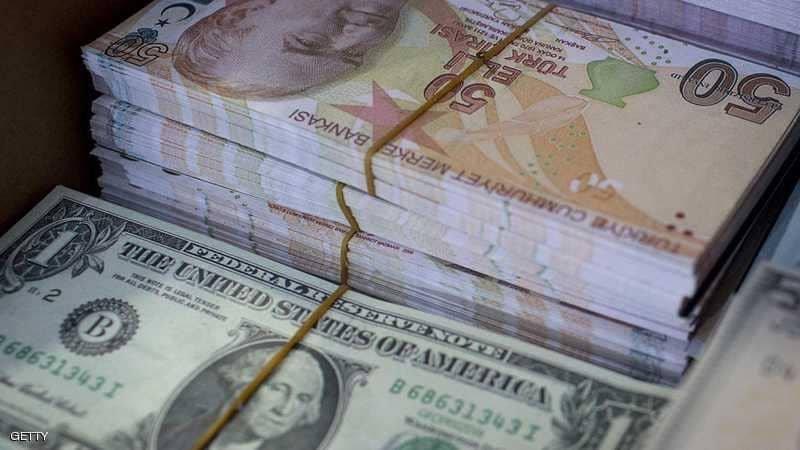 الليرة التركية تهبط 3.5٪ أمام الدولار